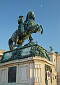 Prince Eugene equestrian statue, Heldenplatz, 1st district, Inner City, Vienna, Austria