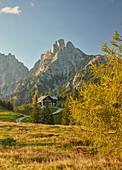 Treffneralm, Mödlinger Hütte, Kalbling, Sparafeld, Reichenstein, Ennstal Alps, Styria, Austria