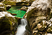 Mostrica Schlucht bei Stara Fucina, Triglav Nationalpark, Slowenien