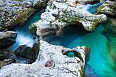 Mostrica Gorge at Stara Fucina, Triglav National Park, Slovenia