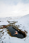 Iceland, Iceland, Far North, Frost, Cold, Ice, Snow, Winter, Kayaking, Kayaking, White Water, Godafoss, Danger, Icy, Waterfall, February, Hot Pot, Hot Spring, Hotspring