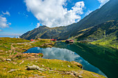 Baleasee on Transfagarasanstrasse, Carpathians, Transylvania, Romania