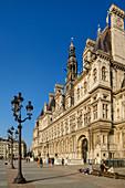 Hotel de Ville, City Hall, UNESCO World Heritage Site, Seine River, Paris, France
