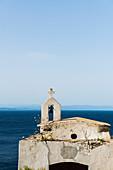 dilapidated chapel, Bonifacio, Corse-du-Sud, Corsica, France