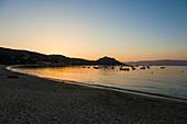 Beach, Campomoro, near Sartène, Corse-du-Sud, Corsica, France