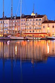 France, Var, Saint Tropez, the port, Quai Jean Jaures