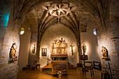 France, Pyrenees Atlantiques, Basque Country, Larrau, church