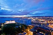 France, Bouches du Rhone, Marseille, district Pharo Palais du Pharo, Sofitel Vieux Port, Fort Saint Jean Historic Monument class
