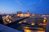 Frankreich, Bouches du Rhône, Marseille, Gebiet von Euroméditerranée, Panier-Bezirk, Waadtländer Alleenkirche von St Lawrence, historisches Denkmal seit MuCEM