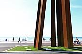 France, Alpes Maritimes, Nice, Promenade des Anglais, Etats Unis dock