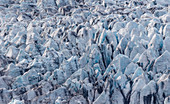 Close-up of an ice quarry, Jokulsarlon, Iceland
