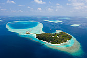 Villivaru holiday island, South Male Atoll, Indian Ocean, Maldives