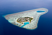 Rakheedhoo native island, Felidhu Atoll, Indian Ocean, Maldives
