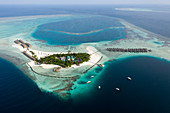 Holiday island Moofushi, Ari Atoll, Indian Ocean, Maldives