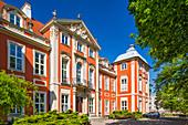 Palace of Czapski and Raczynski family, Academy of Art, Krakowskie Przedmiescie 5 street, Warsaw, Mazovia region, Poland, Europe