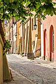 Brzozowa street, Old Town, Warsaw, Mazovia region, Poland, Europe