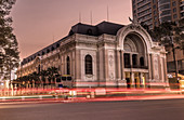 Saigon Opera at sunset (Ho Chi Minh City)