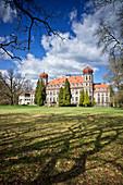 Brynek Palace. Silesian Voivodeship in Poland, Europe