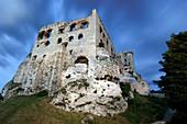 Ogrodzieniec medieval castle, Silesian Voivodeship in Poland, Europe