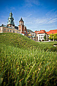 Wawel castle. Cracow is the second largest and one of the oldest cities in Poland.