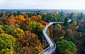 Tree top path in Beelitz-Heilstätten, Brandenburg, Germany