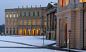Old market with the Barberini Museum and the City Palace, Potsdam, Brandenburg, Germany