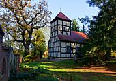 Kirche in Ferch, Gemeinde Schwielowsee, Land Brandenburg, Deutschland