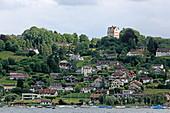 Schloss Salenstein mit Bodensee, Kreuzlingen, Thurgau, Schweiz