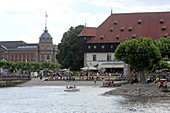 Council building, Constance, Lake Constance, Baden-Wuerttemberg, Germany