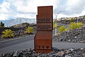 New visitor center with access to the lava tube Cueva de las Palomas, Los Llanos de Aridane, La Palma, Canary Islands, Spain, Europe