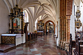 Archcathedral baroque church in Gdansk Oliwa, Gdansk Oliwa, Pomorze region, Pomorskie voivodeship, Poland, Europe
