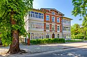 Gdansk Oliwa, pre-war villa district, Cystersow street. Gdansk Oliwa, Pomorze region, Pomorskie voivodeship, Poland, Europe