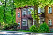 Gdansk Oliwa, pre-war villa district, Polanki street. Gdansk Oliwa, Pomorze region, Pomorskie voivodeship, Poland, Europe