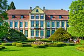 Abtpalast, Kunstmuseum, Oliwski Park, französischer Garten, Danzig Oliwa, Polen, Europa
