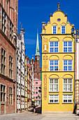 Altstadt, Kramarska-Straße, Danzig, Polen, Europa