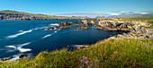Dingle Peninsular Panorama, Grafschaft Kerry, Munster, Republik Irland, Europa