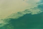 Frankreich, Seine Maritime, Jumieges, Sand des Seine-Tals (Luftaufnahme)