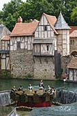 France, Vendee, Les Epesses, Le Puy du Fou historical theme park, the round table knights show