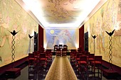 France, Alpes Maritimes, Menton, the City Hall, the wedding room entirely decorated by Jean Cocteau in 1957