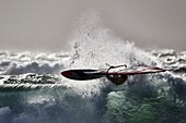 France, Finistere, Plomeur, Pointe de la Torche, WorldCup 2014 Windsurf, Wave Contest, BONTEMPS Julien (FRA)