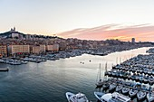 France, Bouches du Rhone, Marseille, the Old Port