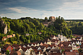Pottenstein, Franconian Switzerland, Franconia, Bavaria, Germany