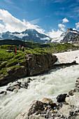 rear Lauterbrunnen Valley, Lauterbrunnen, Murren, Bernese Oberland, Switzerland