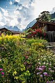 Gimmelwald, Lauterbrunnen Valley, Lauterbrunnen, Canton Bern, Bernese Oberland, Switzerland