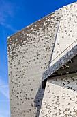 France, Paris, The Philarmonie de Paris by the architecte Jean Nouvel, finishing touch