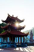 Thien Vien Truc Lam Ho temple, Phu Quoc Island, Vietnam, Indochina, Southeast Asia, Asia