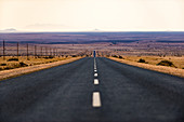 A long road in the Karas region of southern Namibia, Africa