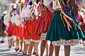 Dancers at Carnival, Sucre, Bolivia, South America