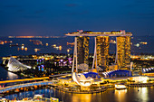 Marina Bay Sands Hotel, Singapore, Southeast Asia, Asia