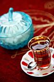 Turkish tea, Istanbul, Turkey, Europe